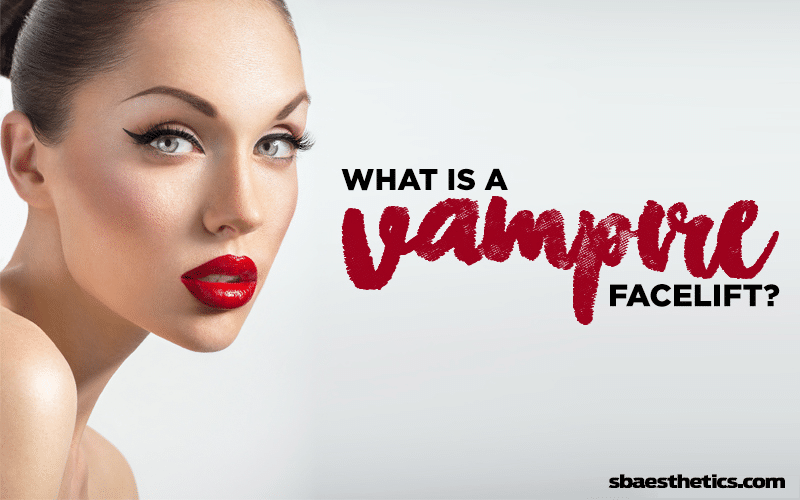what is a vampire facelift
